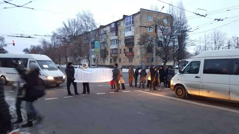 Жители дома 34 по ул. Мусоргского требуют дать им отопление