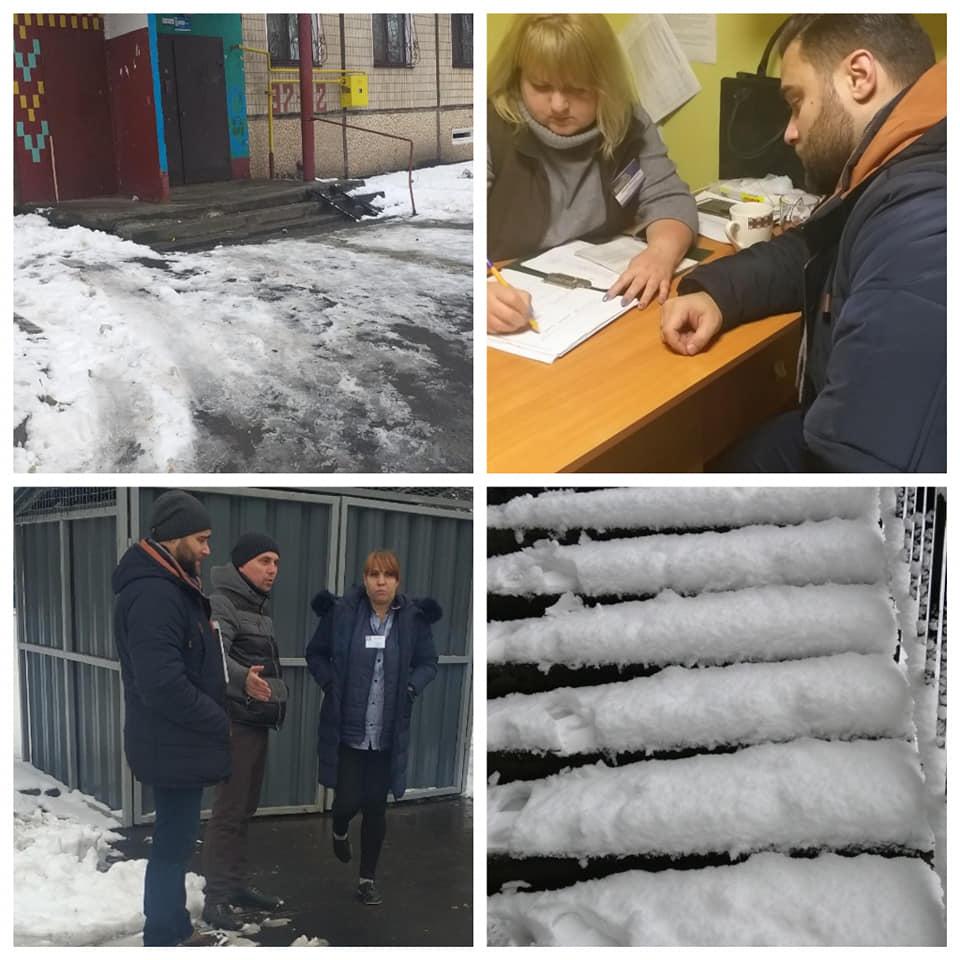 Неубранный снег способствует повышению травматизма
