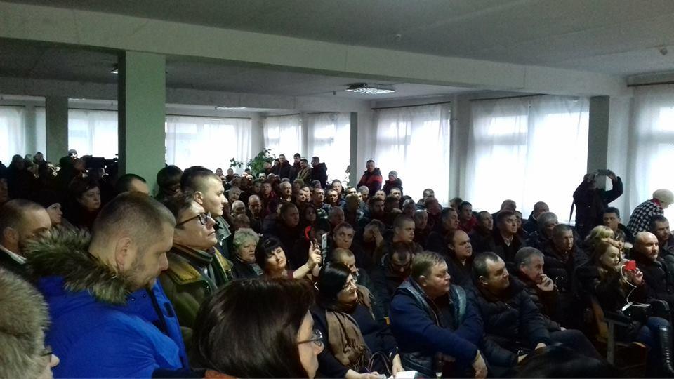 Общественные слушания по вопросу поднятия тарифа на проезд в Кривом Роге