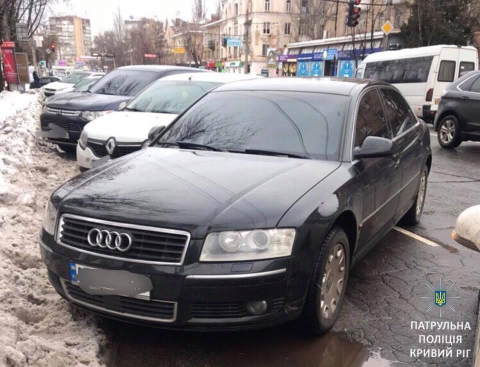 Автомобиль, который числился в розыске, обнаружен полицией