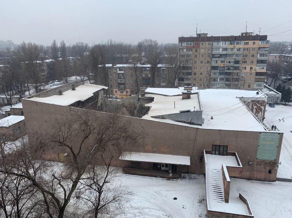 """Обрушение крыши кинотеатра """"Современник"""""""