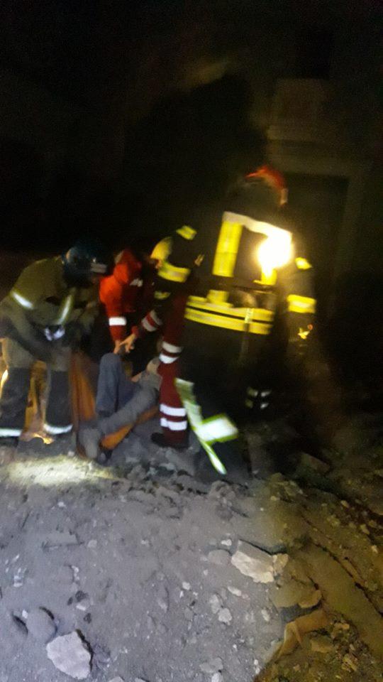 Пострадавшего 52-летнего криворожанина достали из-под завалов