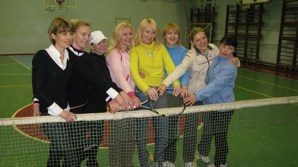 Так начиналась Женская теннисная лига в Кривом Роге