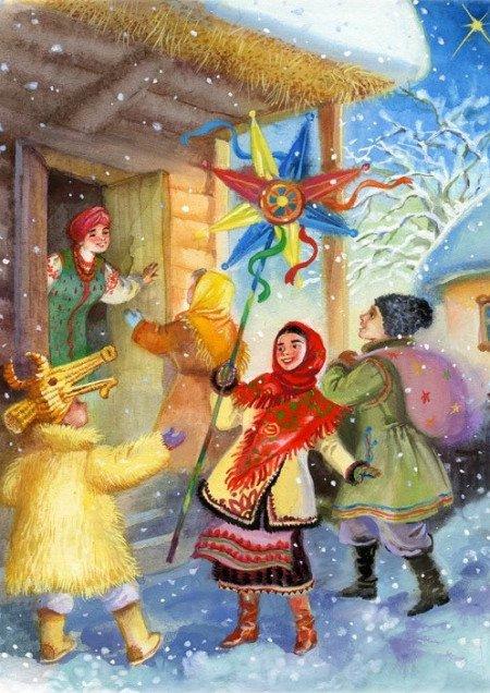 Рождественская коляда на Почтовой