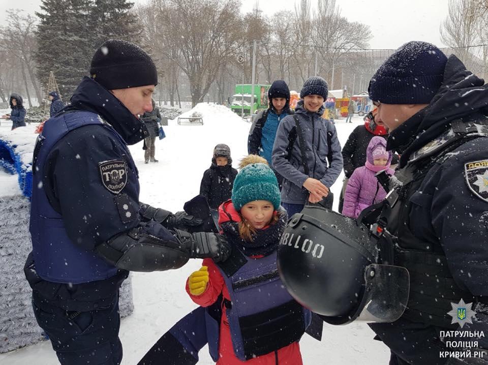 В криворожской полиции служат настоящие девчонки