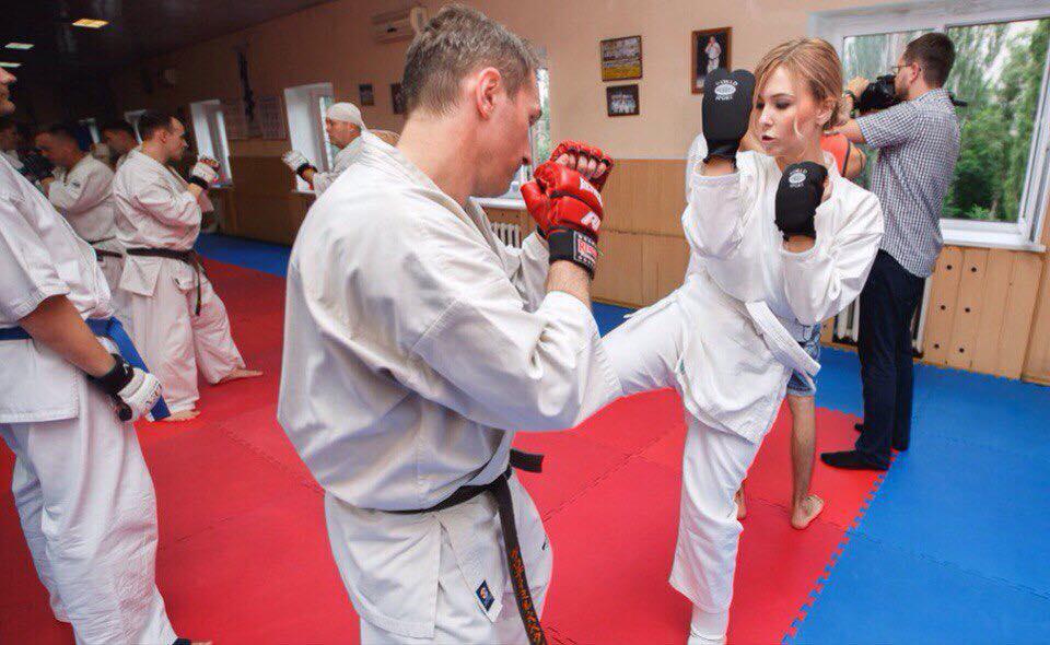 Мастер-класс по самообороне для женщин