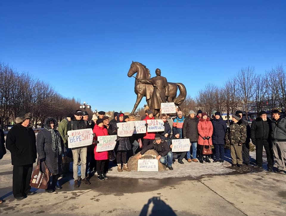 Активные и неравнодушные жители приглашают других присоединяться к протесту против маршруточного беспредела