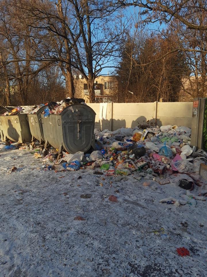 Криворожские мусорные пейзажи