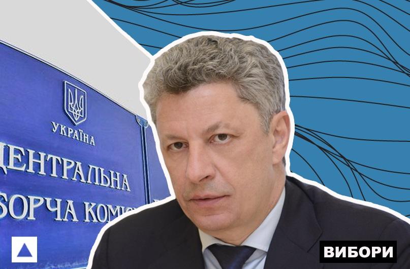 Кандидат на пост президента Укрианы Юрий Бойко
