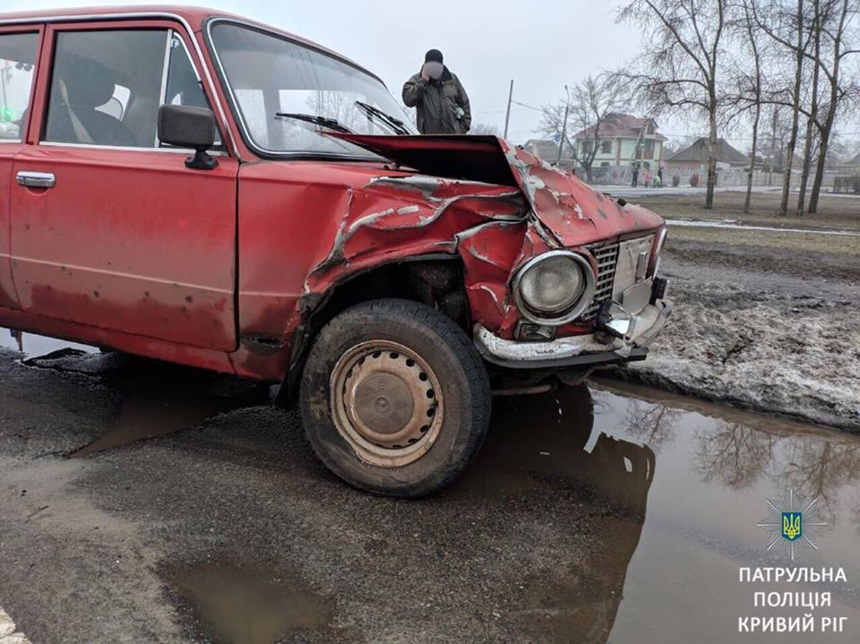 Пострадавший автомобиль