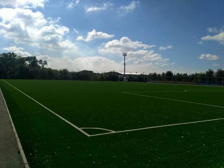 Реконструкция футбольного поля