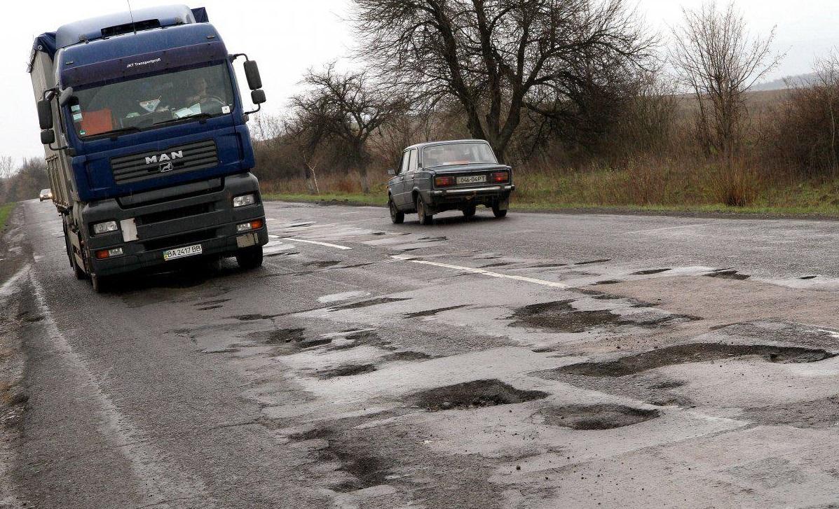 Пока что дороге на Кривой Рог светит только ямочный ремонт