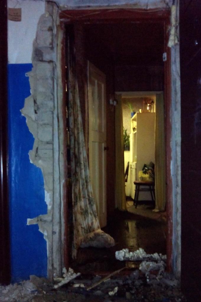 Пожар в квартире по улице Владимира Терещенко