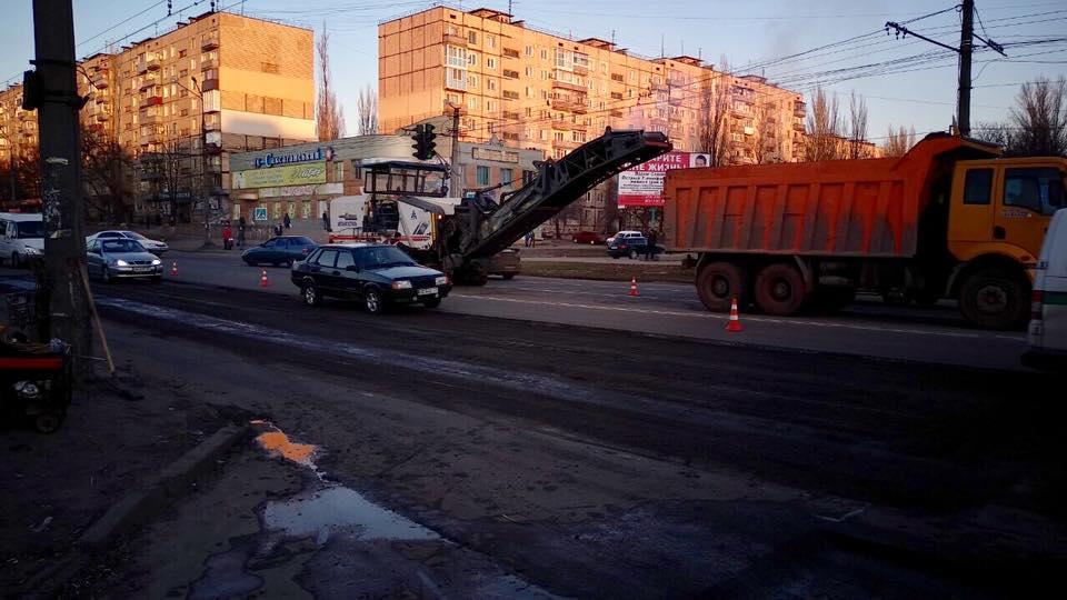 Центральные дороги города скоро будут с новым покрытием
