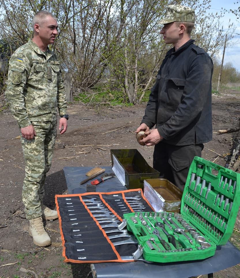 Сезонные работы по обслуживанию военной техники