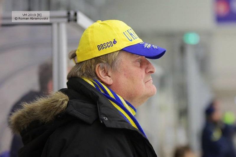 Тренер сборной Украины по бенди Магнус Альм