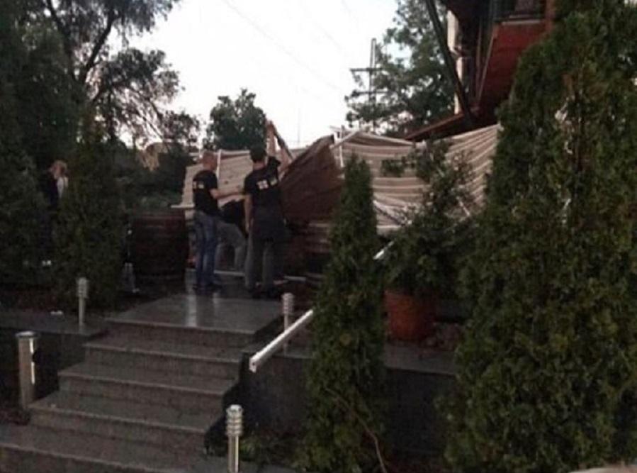 Последствия урагана на Дзержинке