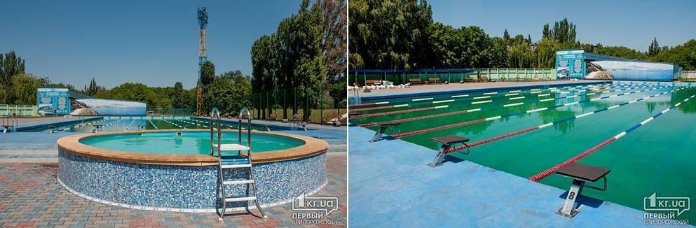 Так открытый бассейн выглядел семь лет назад