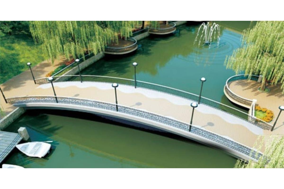 Проект нового моста в парке им. Гагарина