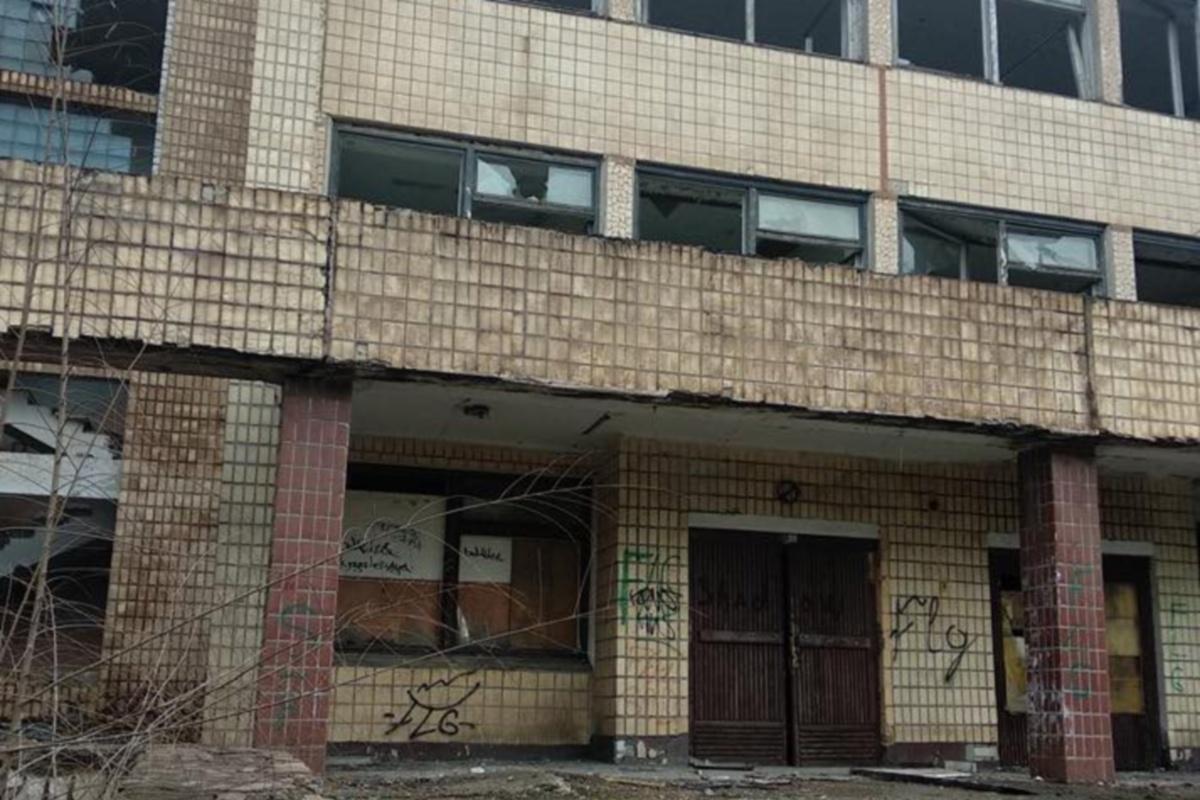 """В этом здании """"хоронят"""" проекты."""