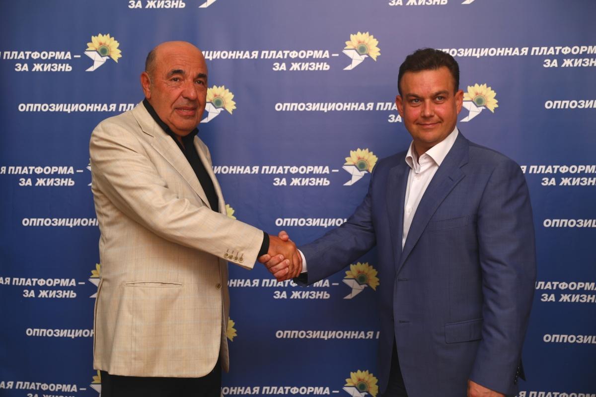 Вадим Рабинович и Константин Павлов.