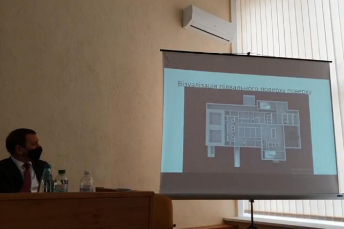 3D презентация будущего онкоцентра.