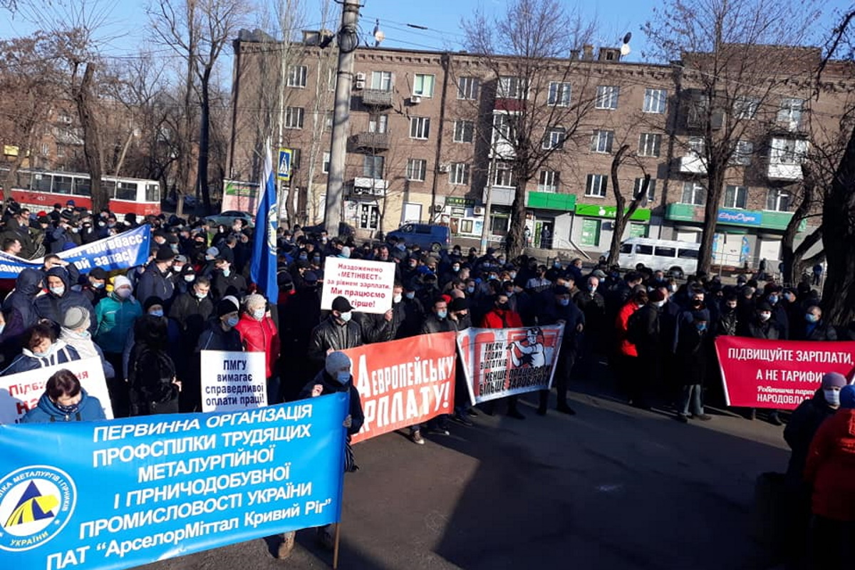 Акции протеста могут быть продожены после 9 апреля.