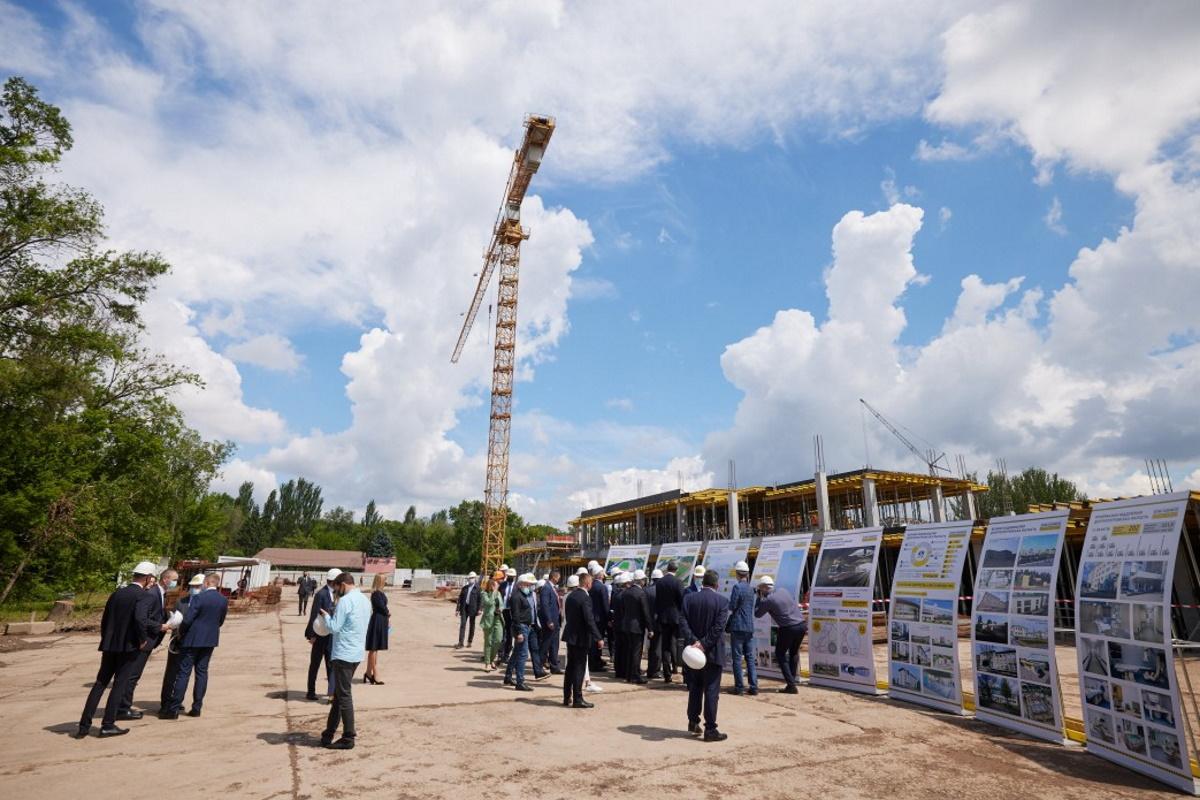 """Президент увидел, каким станет стадион """"Спартак"""" после реконструкции."""
